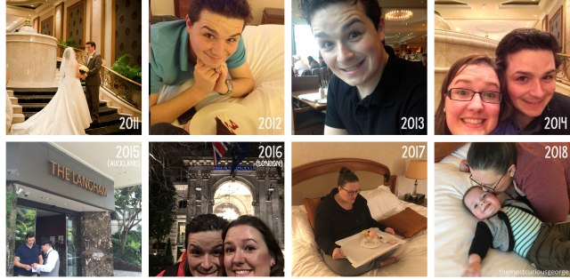 Years at the langham